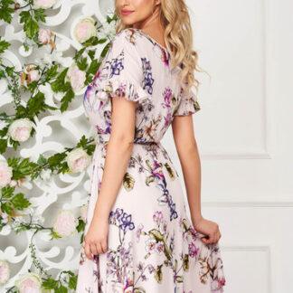 Rochie StarShinerS roz deschis eleganta