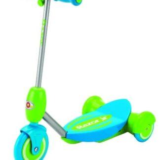Trotineta electrica copii Razor Lil' E (Albastru/Verde)