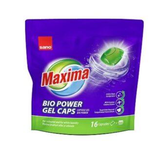 Punga Detergent capsule Sano Maxima Gel 16 spalari