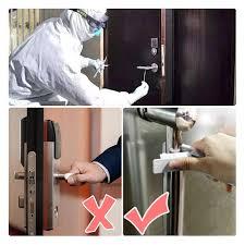 Deschizator de usi No Touch cu auto-dezinfectare